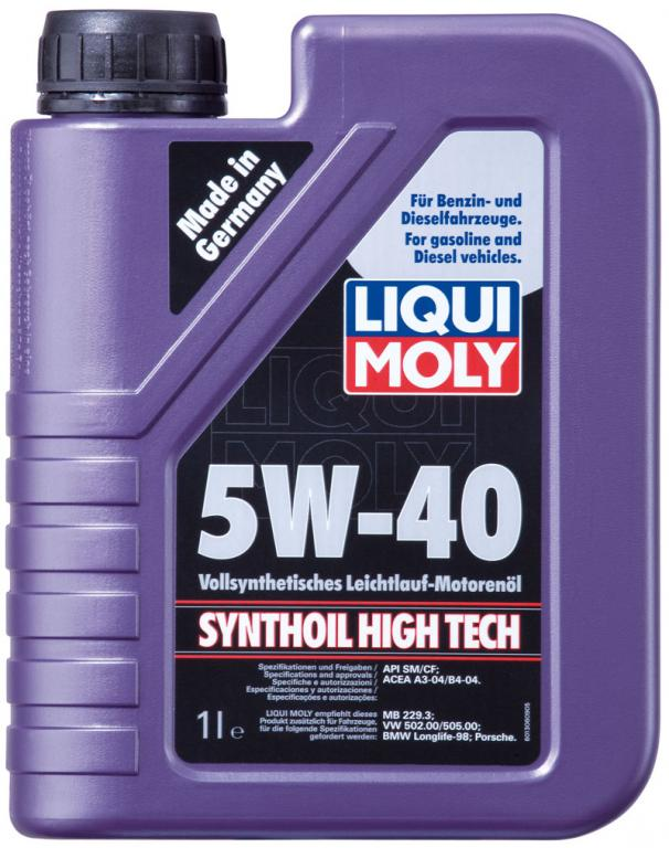 Liqui moly Synthoil High Tech 5W-40 1L
