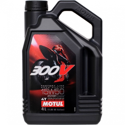 Motul 300V FL Road Racing 15w-50 4L
