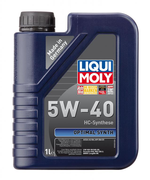 Liqui moly Optimal Synth 5W-40 1L